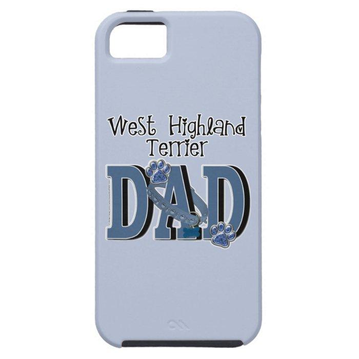 West Highland Terrier DAD iPhone SE/5/5s Case