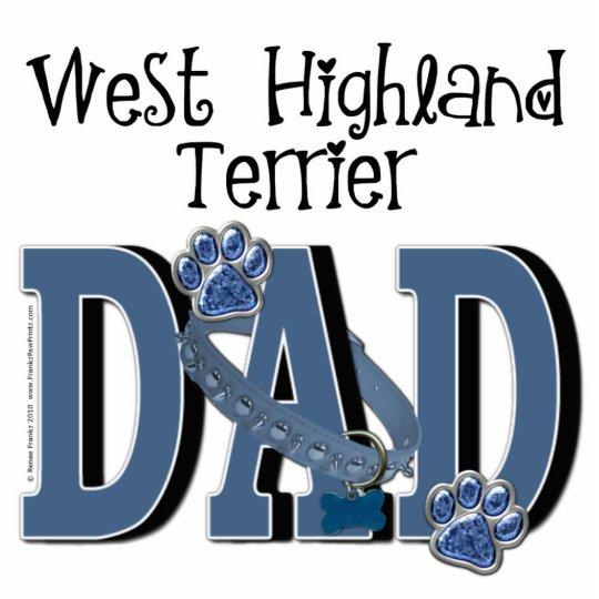 West Highland Terrier DAD Statuette