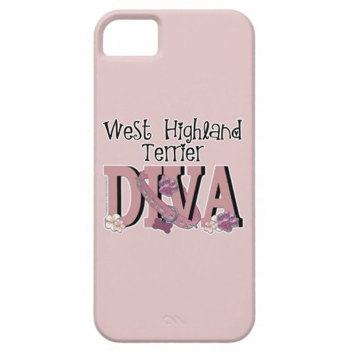 West Highland Terrier DIVA iPhone 5 Cases
