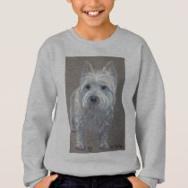 West highland terrier dog sweatshirt