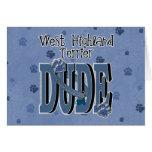 West Highland Terrier DUDE Card