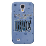 West Highland Terrier DUDE Samsung Galaxy S4 Cover