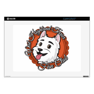 West Highland Terrier Fan Club Laptop Decal