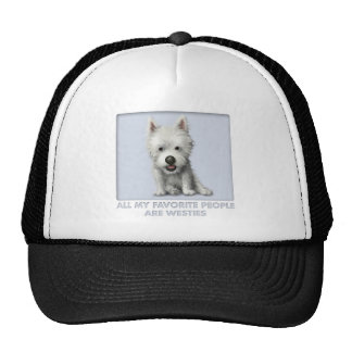West Highland Terrier Favorite Trucker Hat