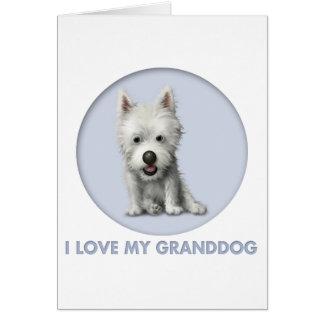 West Highland Terrier Granddog Card