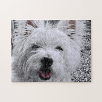 West Highland Terrier Jigsaw Puzzle