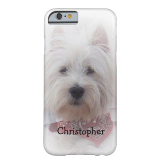 West Highland Terrier Just Add Name Barely There iPhone 6 Case