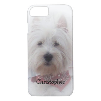 West Highland Terrier Just Add Name iPhone 7 Case