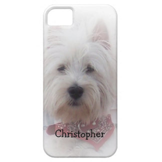 West Highland Terrier Just Add Name iPhone SE/5/5s Case