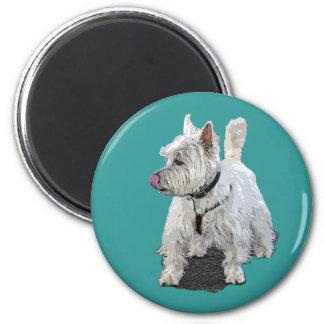 West Highland Terrier Magnets