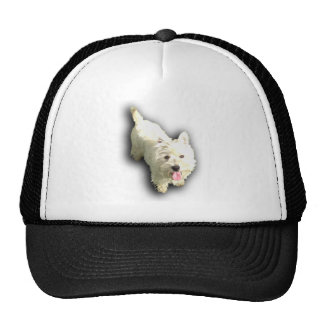 West Highland Terrier Mesh Hats