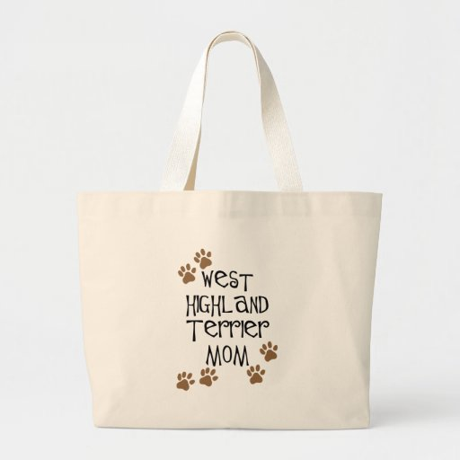 West Highland Terrier Mom Bags