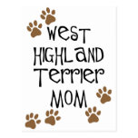 West Highland Terrier Mom Post Card