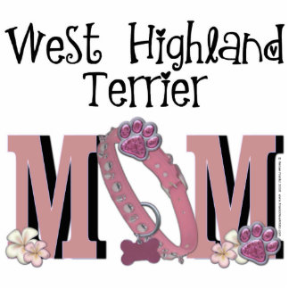 West Highland Terrier MOM Statuette