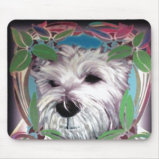 West Highland Terrier Mouse Pads