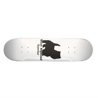 West Highland Terrier Skateboard Deck