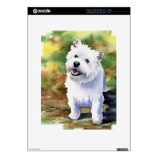 West Highland Terrier Skins For iPad 2