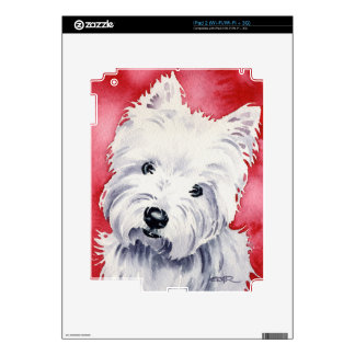 West Highland Terrier Skins For The iPad 2