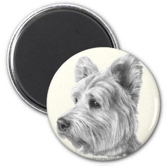 West Highland White Terrier 2 Inch Round Magnet