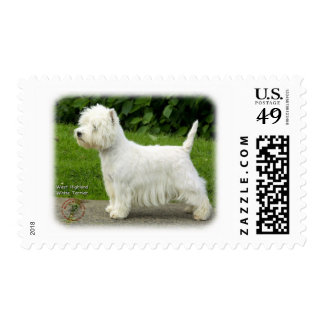 West Highland White Terrier 9A012D-21 Stamp