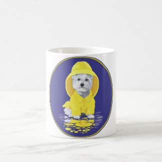 West Highland White Terrier April Showers Coffee Mug