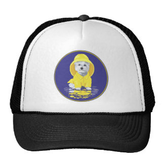 West Highland White Terrier April Showers Trucker Hat