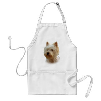 West Highland White Terrier Adult Apron