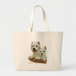 West Highland White Terrier Tote Bags
