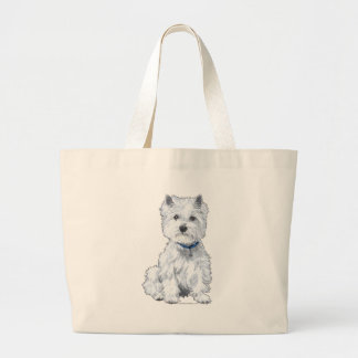 West Highland White Terrier Canvas Bags
