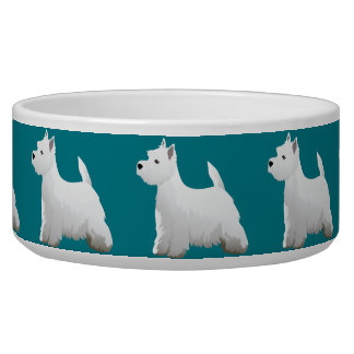 West Highland White Terrier Basic Breed Design Bowl