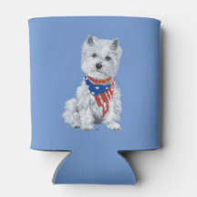 West Highland White Terrier Can Cooler