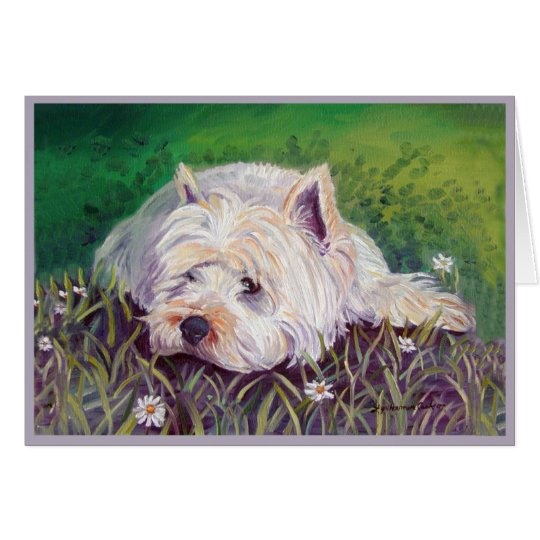 West Highland White Terrier Cards