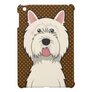 West Highland White Terrier Cartoon Cover For The iPad Mini