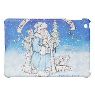 West Highland White Terrier Christmas iPad Mini Covers