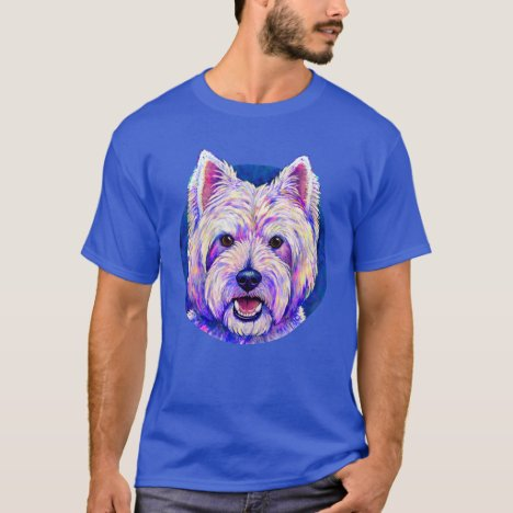 West Highland White Terrier Cute Dog T-Shirt