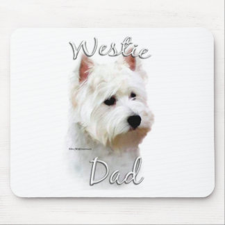 West Highland White Terrier Dad 2 Mouse Pad