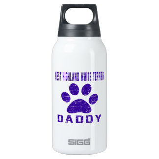 West Highland White Terrier Daddy Designs SIGG Thermo 0.3L Insulated Bottle