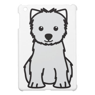 West Highland White Terrier Dog Cartoon iPad Mini Cases