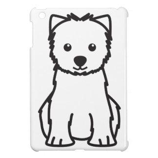 West Highland White Terrier Dog Cartoon iPad Mini Cover