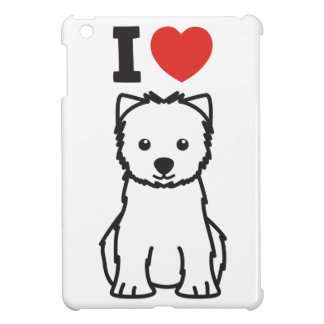 West Highland White Terrier Dog Cartoon Case For The iPad Mini