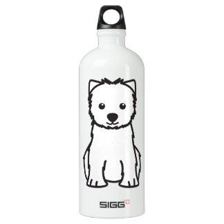 West Highland White Terrier Dog Cartoon SIGG Traveler 1.0L Water Bottle