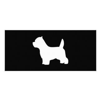 West Highland White Terrier dog custom bookmark Custom Rack Card