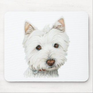 West Highland White Terrier Dog Mouse Pad