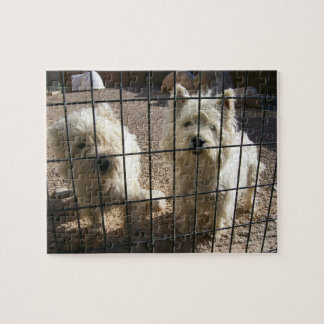 West Highland White Terrier Dog Puzzle