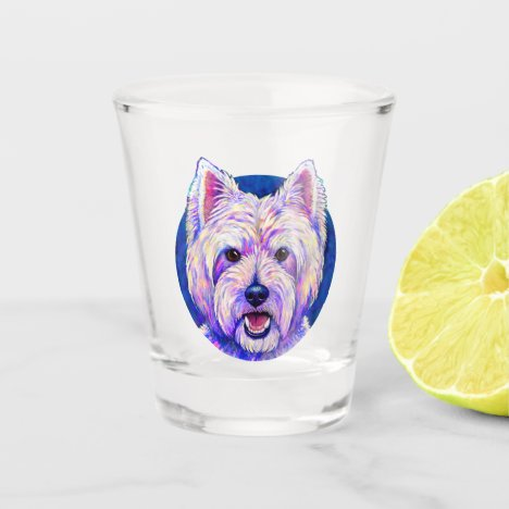West Highland White Terrier Dog Shot Glass