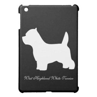 West Highland White Terrier dog, westie silhouette iPad Mini Case