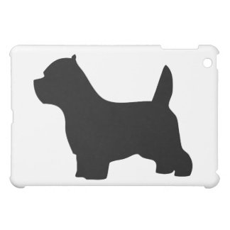 West Highland White Terrier dog, westie silhouette iPad Mini Covers