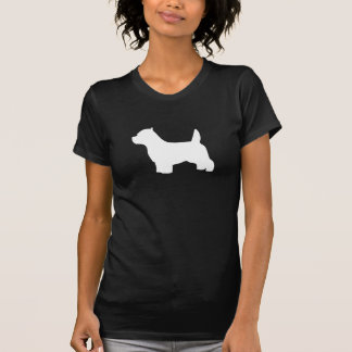 West Highland White Terrier dog, westie silhouette Tees
