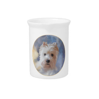 West Highland White Terrier Drink Pitchers