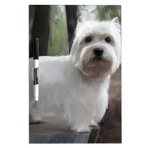 West Highland White Terrier Dry-Erase Board